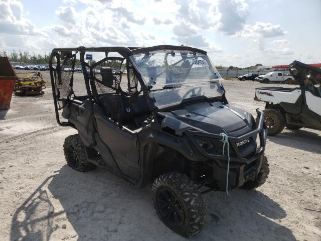 Salvage cars for sale from Copart Alorton, IL: 2016 Honda SXS1000 M5