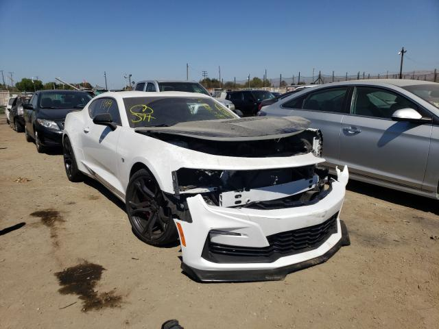Salvage cars for sale from Copart San Martin, CA: 2021 Chevrolet Camaro SS