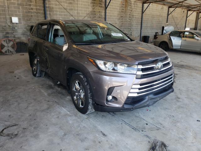 Toyota Highlander salvage cars for sale: 2019 Toyota Highlander