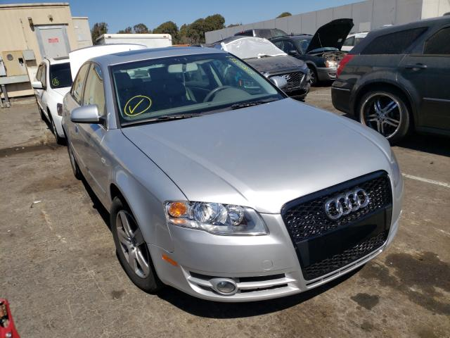Salvage cars for sale from Copart Hayward, CA: 2006 Audi A4 2 Turbo