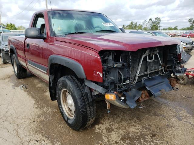 Salvage cars for sale from Copart Pekin, IL: 2004 Chevrolet Silverado