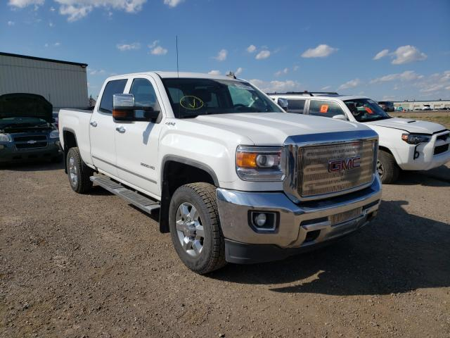 Salvage cars for sale from Copart Rocky View County, AB: 2016 GMC Sierra K25