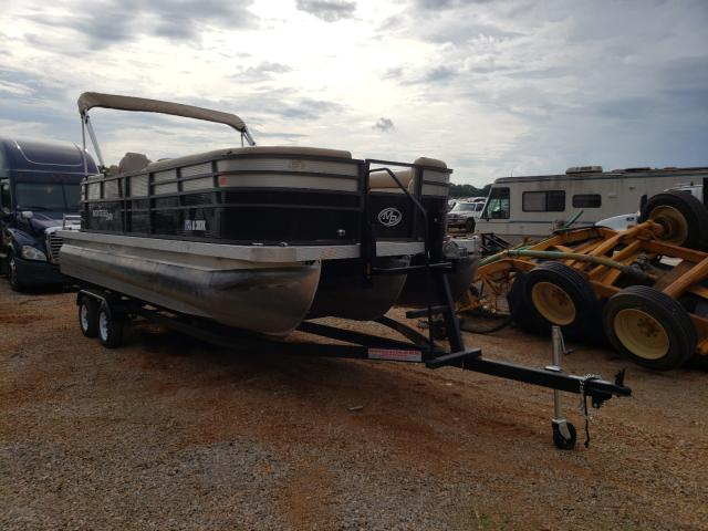 Salvage boats for sale at Tanner, AL auction: 2019 Boat Pontoon