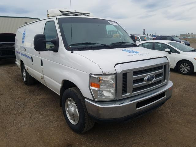 Salvage cars for sale from Copart Rocky View County, AB: 2011 Ford Econoline