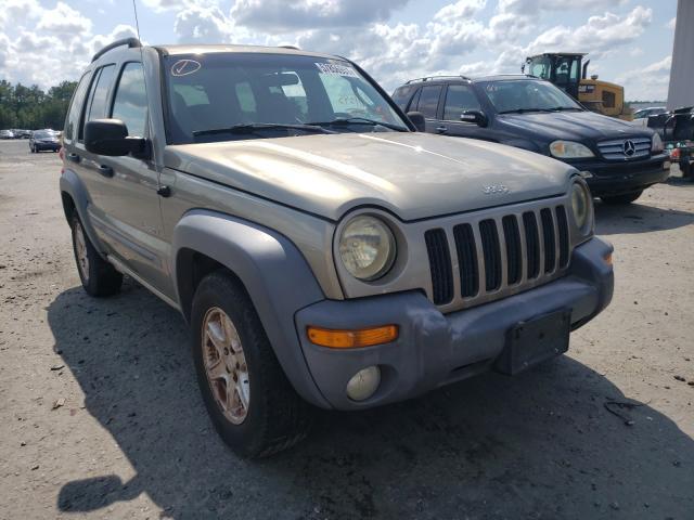 Vehiculos salvage en venta de Copart Lumberton, NC: 2004 Jeep Liberty SP