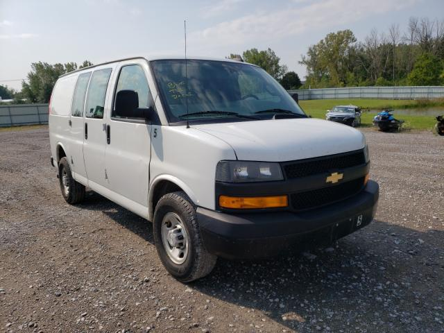Salvage cars for sale from Copart Leroy, NY: 2019 Chevrolet Express G2