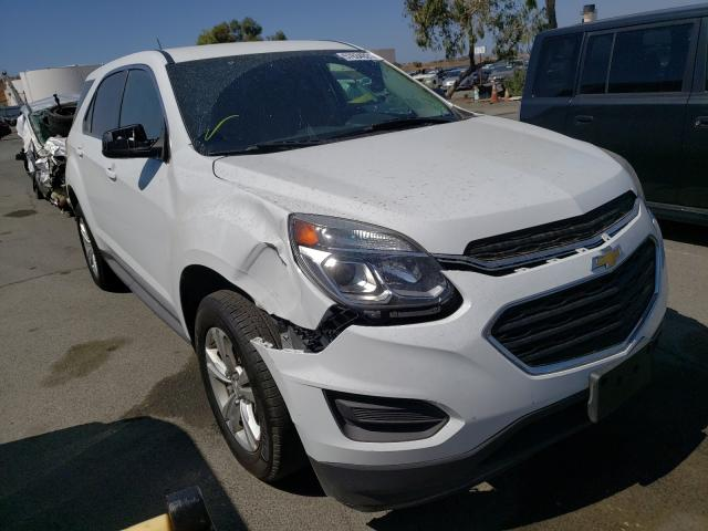 Salvage cars for sale from Copart Martinez, CA: 2017 Chevrolet Equinox LS