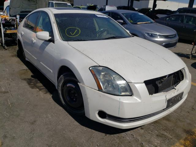 Salvage cars for sale from Copart Hayward, CA: 2005 Nissan Maxima SE