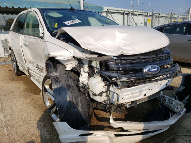 Salvage cars for sale from Copart Pekin, IL: 2011 Ford Edge Sport