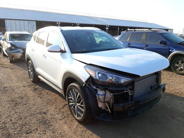 Salvage cars for sale from Copart Phoenix, AZ: 2020 Hyundai Tucson Limited
