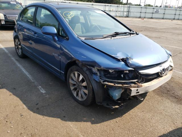 Salvage cars for sale from Copart Moraine, OH: 2010 Honda Civic EX