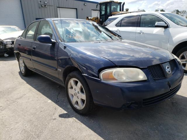 Salvage cars for sale from Copart Dunn, NC: 2006 Nissan Sentra