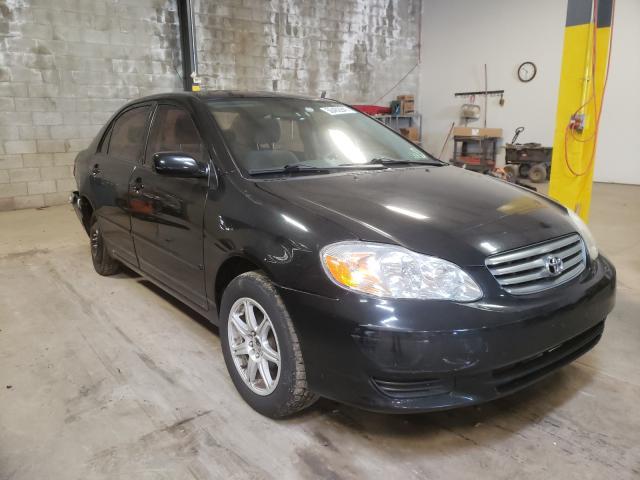 Vehiculos salvage en venta de Copart Chalfont, PA: 2003 Toyota Corolla CE