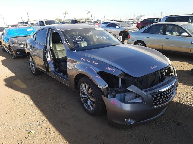 Salvage cars for sale from Copart Tucson, AZ: 2013 Infiniti M37