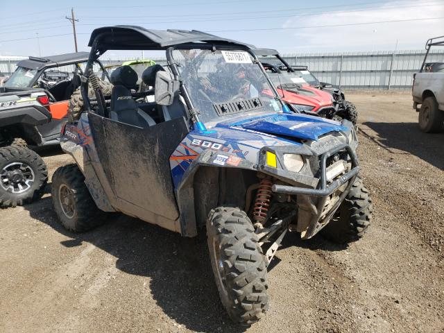 Salvage cars for sale from Copart Brighton, CO: 2013 Polaris RZR 800 S