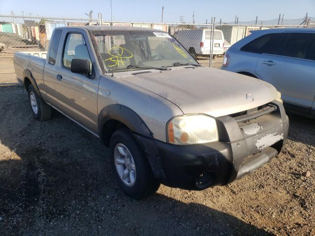 Salvage cars for sale from Copart San Martin, CA: 2001 Nissan Frontier K