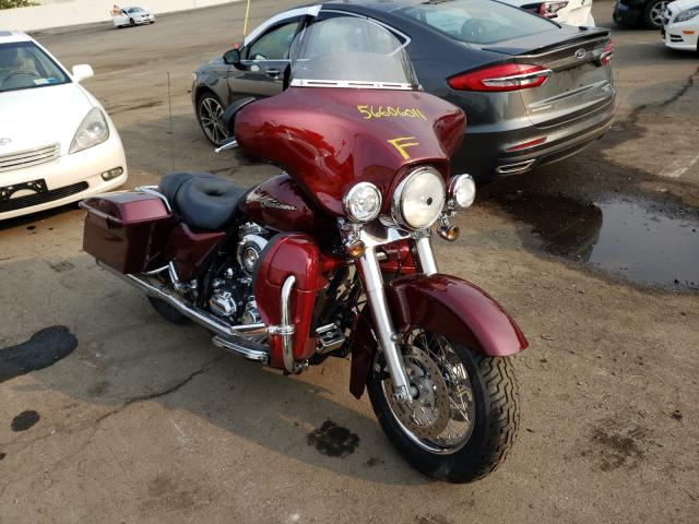 Salvage cars for sale from Copart Marlboro, NY: 2008 Harley-Davidson Flhx