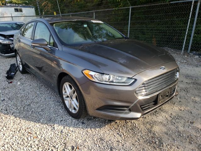 Salvage cars for sale from Copart Northfield, OH: 2014 Ford Fusion SE