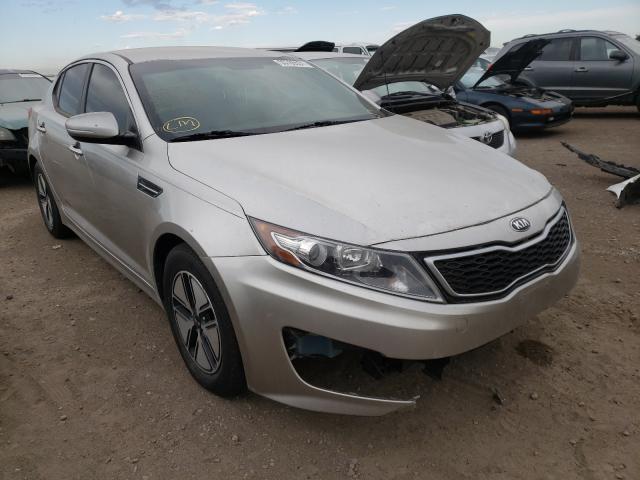 KIA salvage cars for sale: 2012 KIA Optima Hybrid