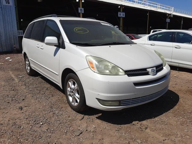 Salvage cars for sale from Copart Phoenix, AZ: 2005 Toyota Sienna XLE
