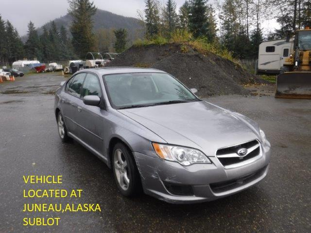 Salvage cars for sale from Copart Anchorage, AK: 2008 Subaru Legacy 2.5