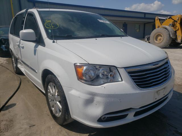 Salvage cars for sale from Copart Alorton, IL: 2016 Chrysler Town & Country
