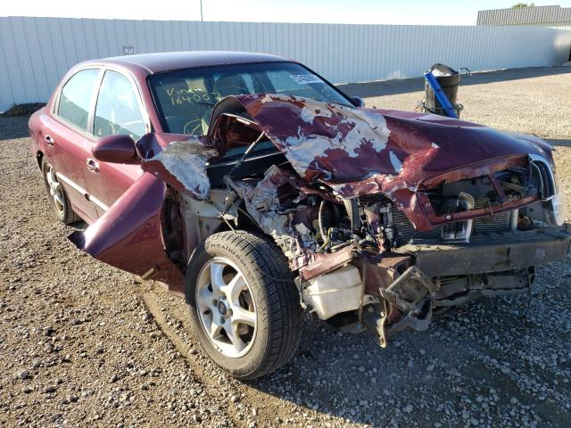 Vehiculos salvage en venta de Copart Bismarck, ND: 2005 Hyundai Sonata GLS