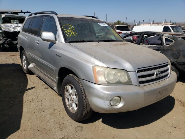 Salvage cars for sale from Copart San Martin, CA: 2002 Toyota Highlander