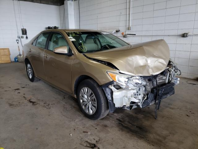 Salvage cars for sale from Copart Blaine, MN: 2012 Toyota Camry Base