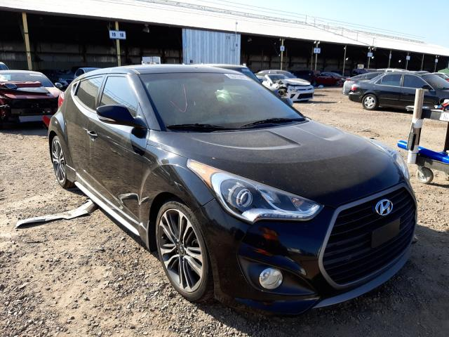 Salvage cars for sale from Copart Phoenix, AZ: 2016 Hyundai Veloster T