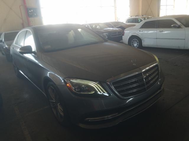 Vehiculos salvage en venta de Copart Van Nuys, CA: 2018 Mercedes-Benz S 560