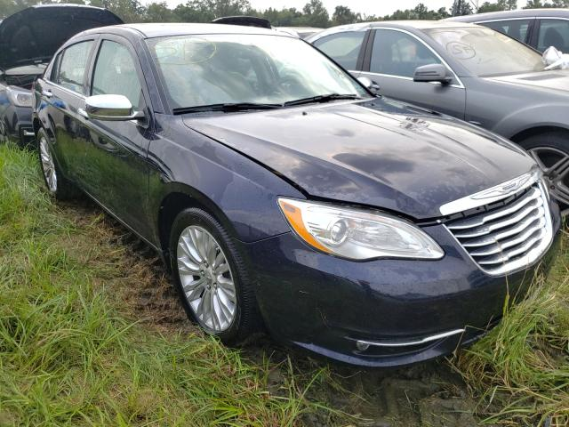 Salvage cars for sale from Copart Windsor, NJ: 2012 Chrysler 200 Limited
