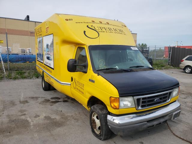 Salvage cars for sale from Copart Bowmanville, ON: 2007 Ford Econoline