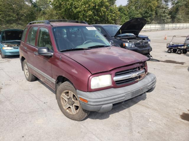 Chevrolet Tracker salvage cars for sale: 2002 Chevrolet Tracker