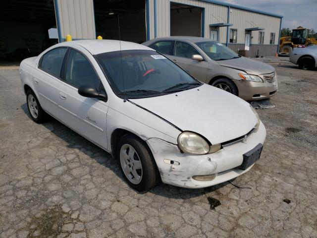 Plymouth salvage cars for sale: 2000 Plymouth Neon Base