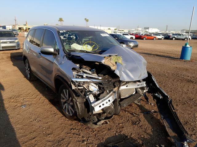Salvage cars for sale from Copart Phoenix, AZ: 2019 Honda Pilot EXL
