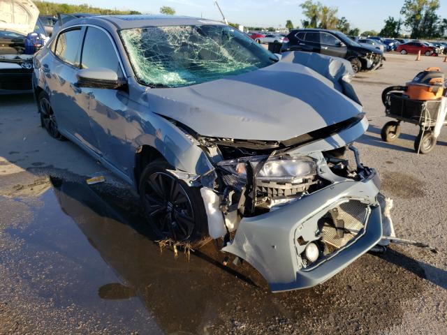 Salvage cars for sale from Copart Orlando, FL: 2018 Honda Civic EX