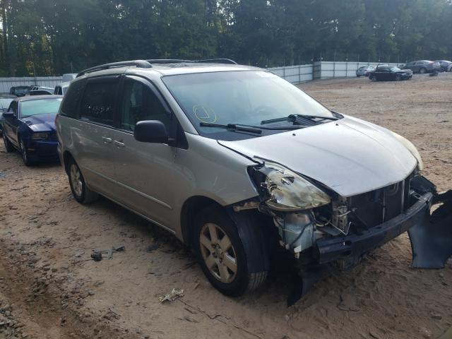 Salvage cars for sale from Copart Austell, GA: 2005 Toyota Sienna CE