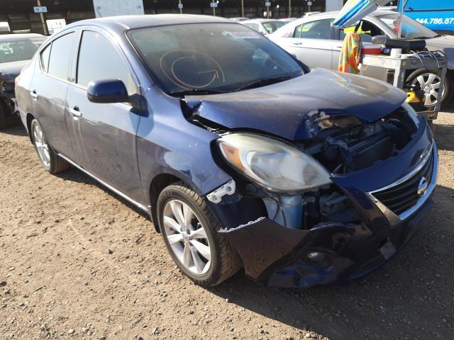 Salvage cars for sale from Copart Phoenix, AZ: 2014 Nissan Versa