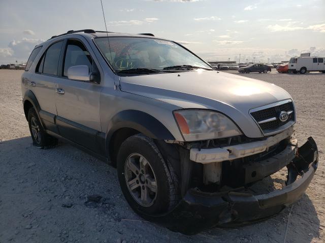 KIA salvage cars for sale: 2004 KIA Sorento EX
