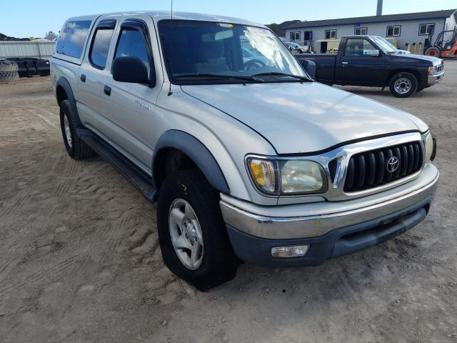 Salvage cars for sale from Copart Kapolei, HI: 2003 Toyota Tacoma DOU