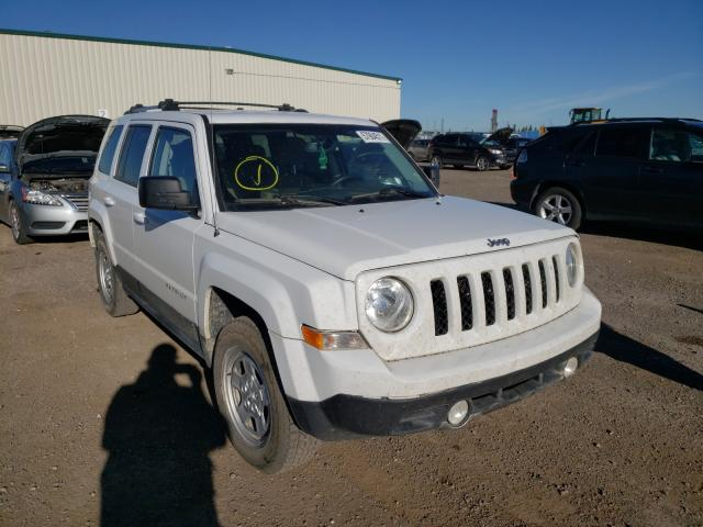 Salvage cars for sale from Copart Rocky View County, AB: 2016 Jeep Patriot