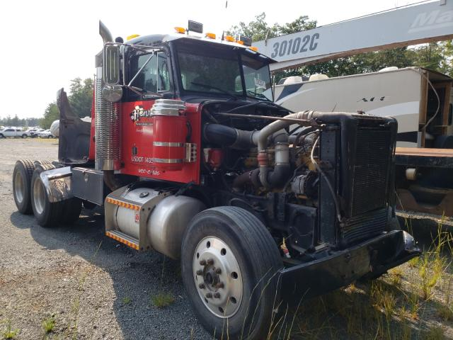 Salvage trucks for sale at Waldorf, MD auction: 1989 Peterbilt 378