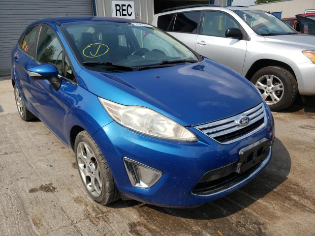Salvage cars for sale from Copart Duryea, PA: 2011 Ford Fiesta SEL