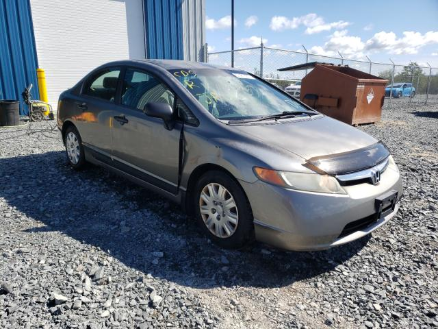 Salvage cars for sale from Copart Cow Bay, NS: 2008 Honda Civic DX