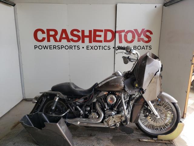 Salvage cars for sale from Copart Kansas City, KS: 2008 Harley-Davidson Fltr