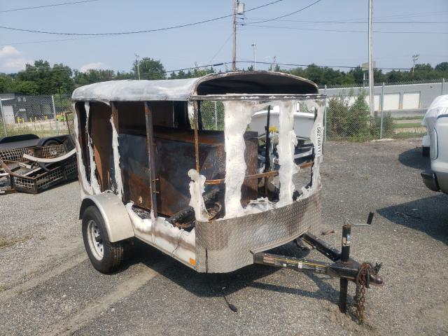 Salvage trucks for sale at Baltimore, MD auction: 2017 Carry-On Trailer