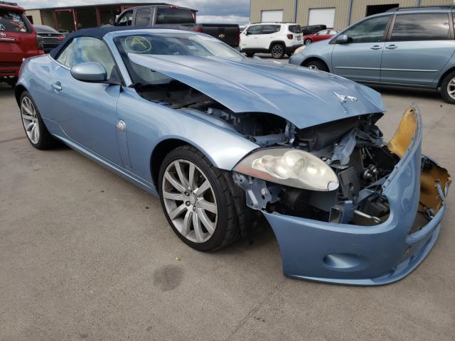 Jaguar salvage cars for sale: 2007 Jaguar XK