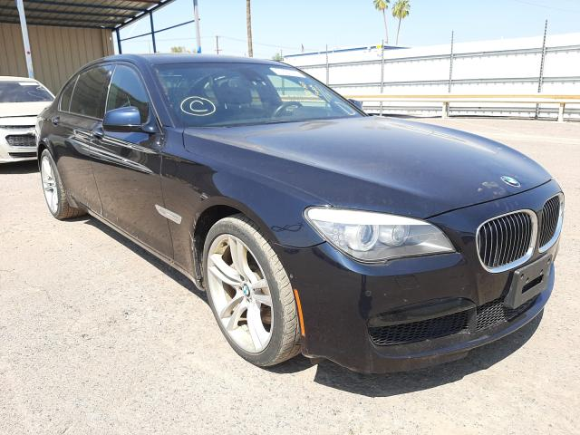 Salvage cars for sale from Copart Phoenix, AZ: 2012 BMW 750 LXI