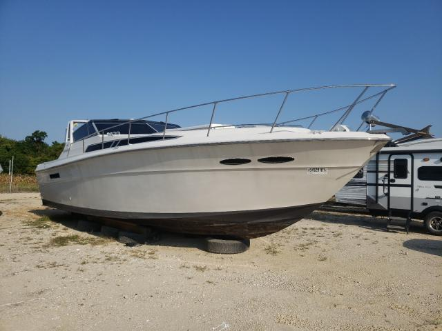 Salvage boats for sale at Columbia, MO auction: 1988 Sea Ray Boat